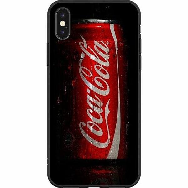 Apple iPhone X / XS Mjukt skal - Cola