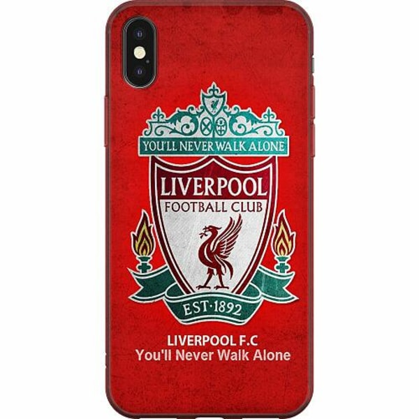 Apple iPhone X / XS Mjukt skal - Liverpool