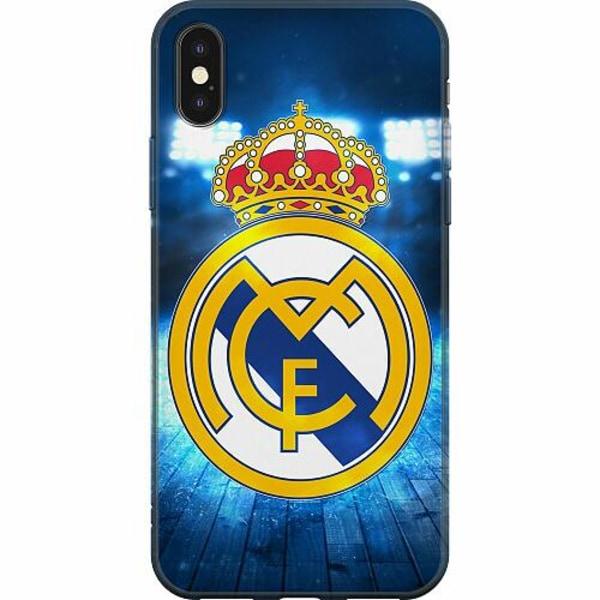 Apple iPhone X / XS Mjukt skal - Real Madrid