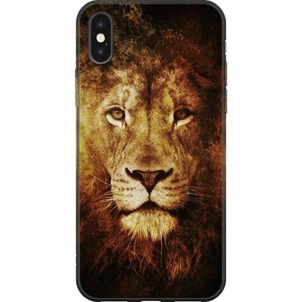 Apple iPhone X / XS Mjukt skal - Lion