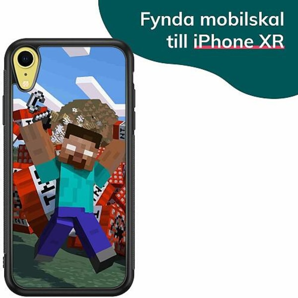 Apple iPhone XR Billigt mobilskal - MineCraft