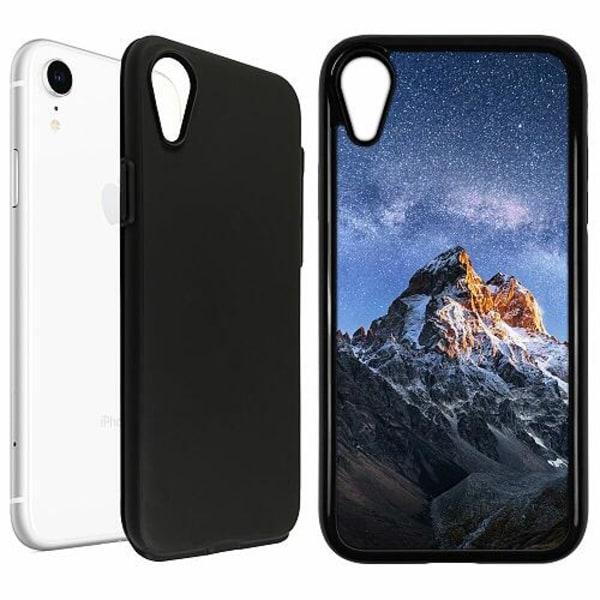 Apple iPhone XR Duo Case Svart Mountains
