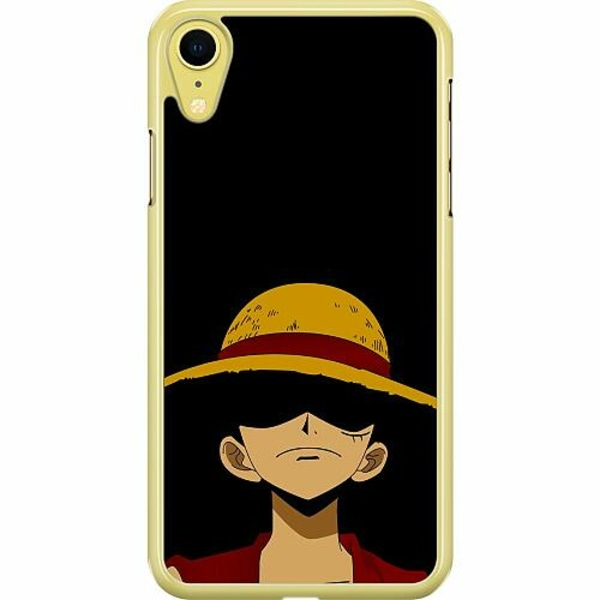 Apple iPhone XR Hard Case (Transparent) Anime