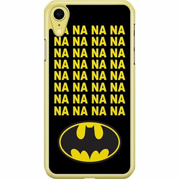 Apple iPhone XR Hard Case (Transparent) Batman
