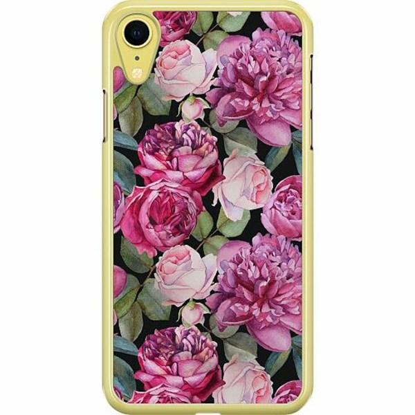 Apple iPhone XR Hard Case (Transparent) Blommor