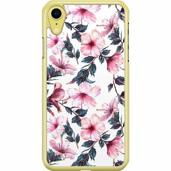 Apple iPhone XR Hard Case (Transparent) Blommor