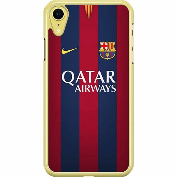 Apple iPhone XR Hard Case (Transparent) FC Barcelona