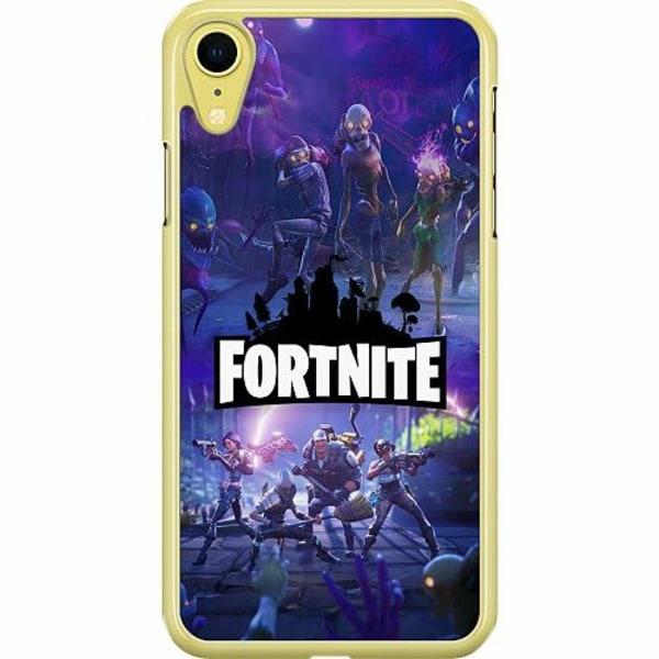 Apple iPhone XR Hard Case (Transparent) Fortnite