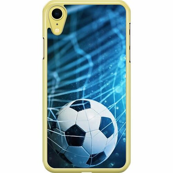 Apple iPhone XR Hard Case (Transparent) Fotboll