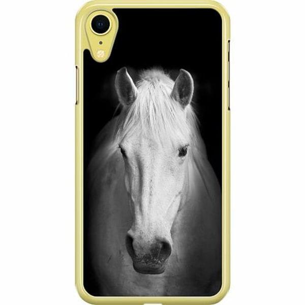 Apple iPhone XR Hard Case (Transparent) Häst