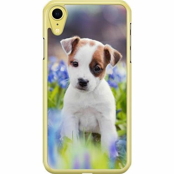Apple iPhone XR Hard Case (Transparent) Hund