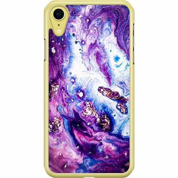 Apple iPhone XR Hard Case (Transparent) Lila