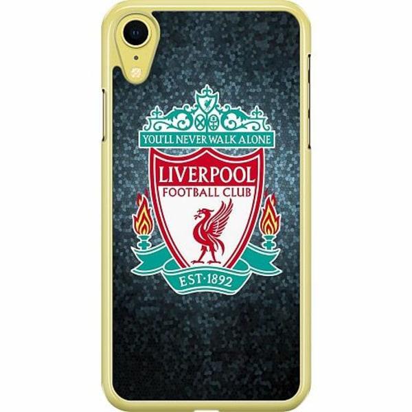 Apple iPhone XR Hard Case (Transparent) Liverpool Football Club