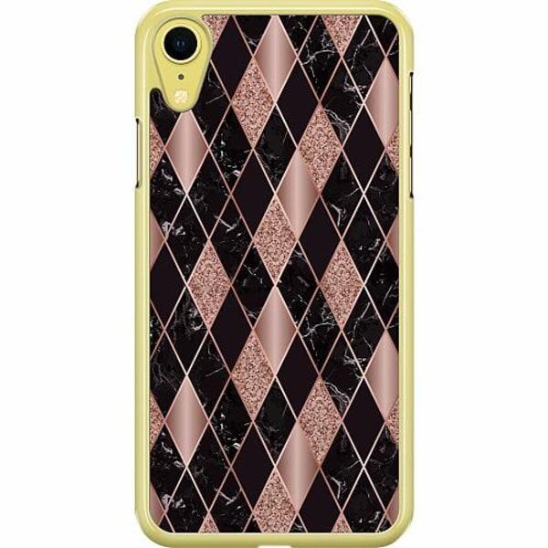 Apple iPhone XR Hard Case (Transparent) Mönster