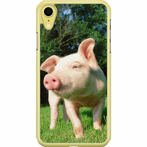 Apple iPhone XR Hard Case (Transparent) Pig