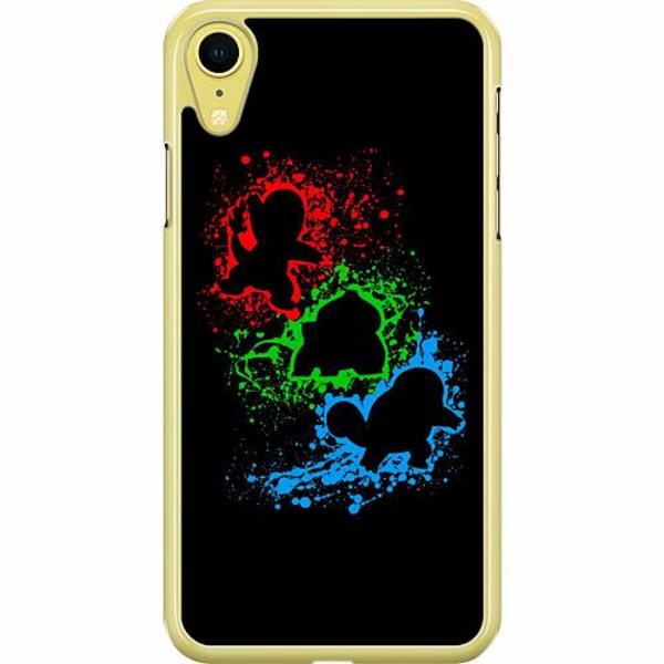 Apple iPhone XR Hard Case (Transparent) Pokemon