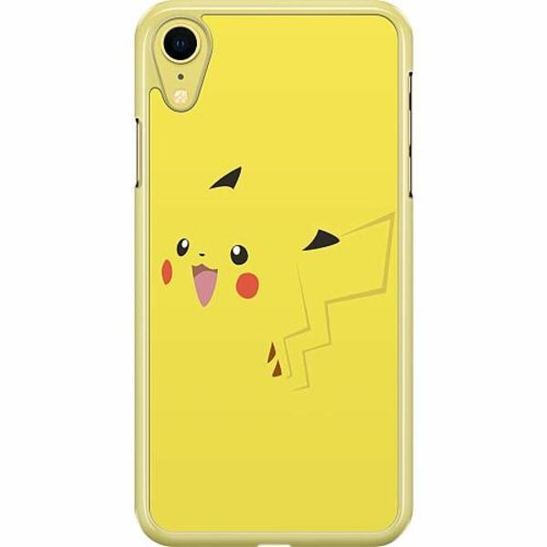 Apple iPhone XR Hard Case (Transparent) Pokémon: Pikachu