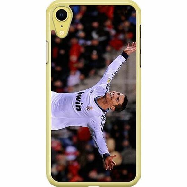 Apple iPhone XR Hard Case (Transparent) Ronaldo