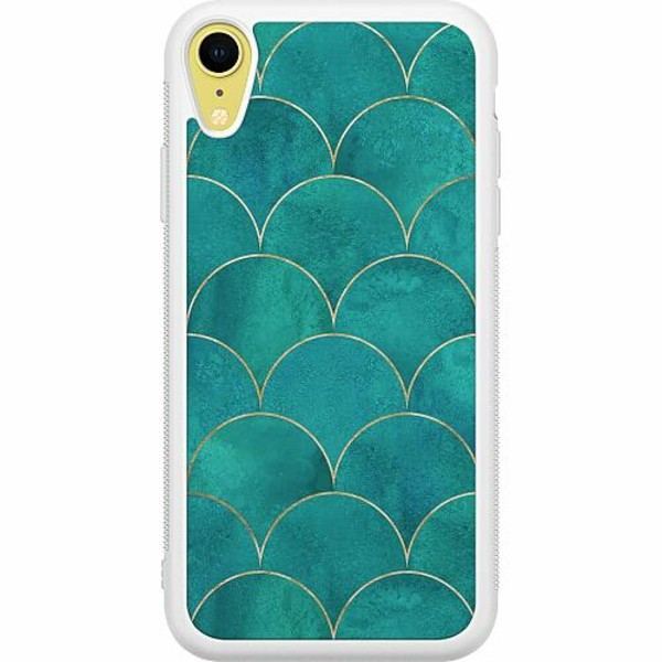 Apple iPhone XR Soft Case (Vit) Appletini