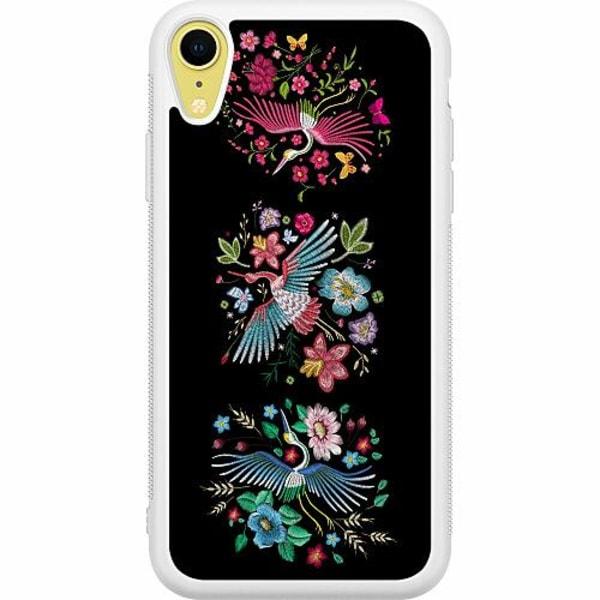 Apple iPhone XR Soft Case (Vit) Birdie