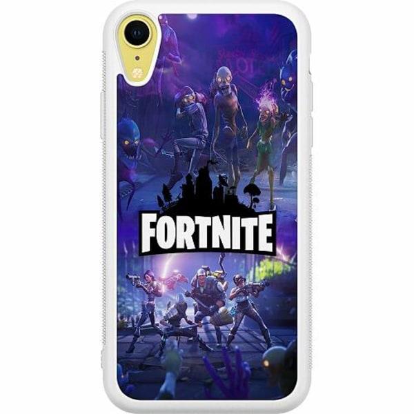 Apple iPhone XR Soft Case (Vit) Fortnite