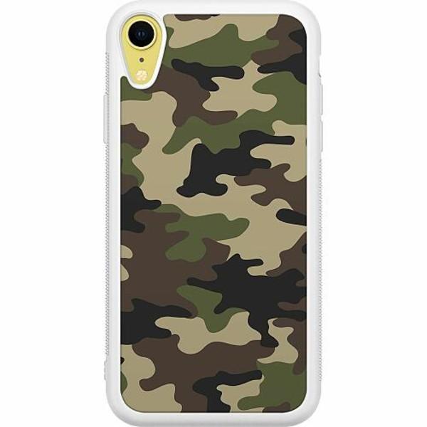 Apple iPhone XR Soft Case (Vit) Militär