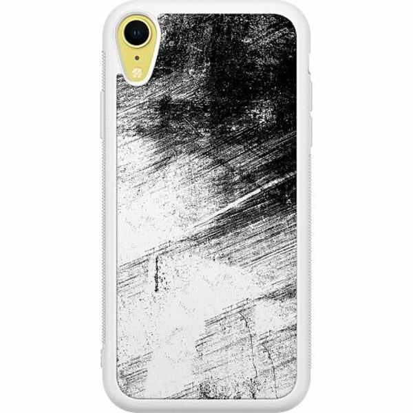 Apple iPhone XR Soft Case (Vit) Mönster