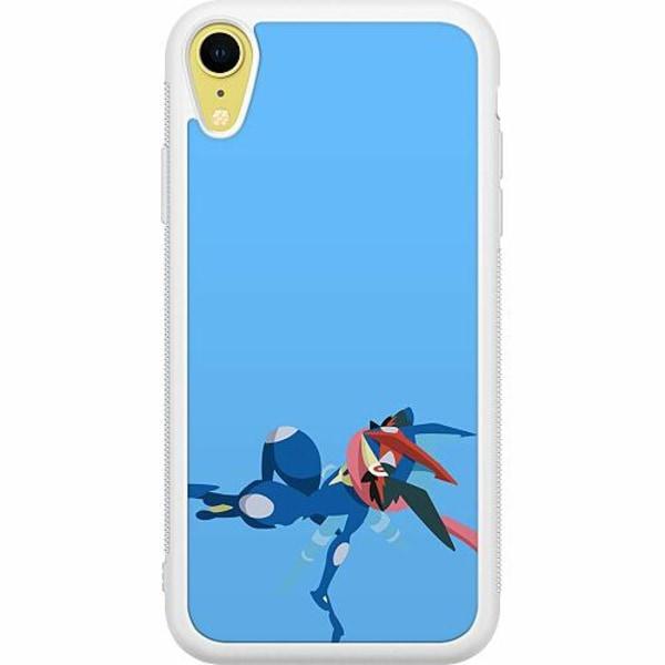 Apple iPhone XR Soft Case (Vit) Pokémon - Greninja