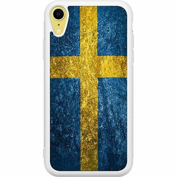 Apple iPhone XR Soft Case (Vit) Sweden