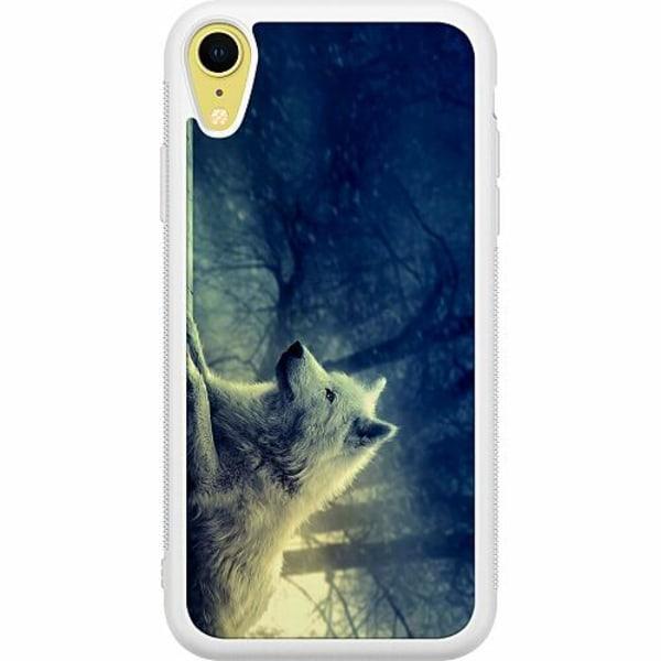 Apple iPhone XR Soft Case (Vit) Varg