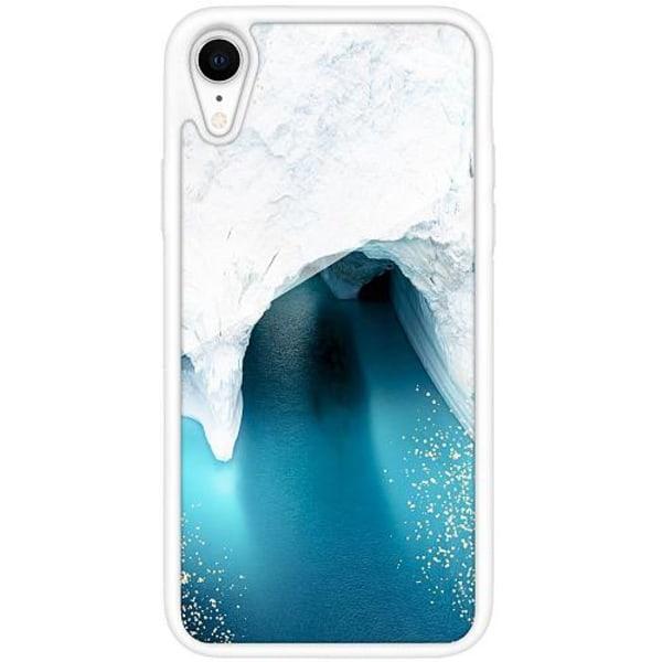 Apple iPhone XR Vitt Mobilskal med Glas Glacier