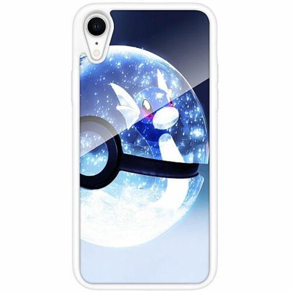 Apple iPhone XR Vitt Mobilskal med Glas Pokemon