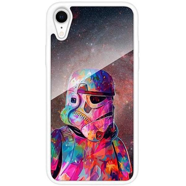Apple iPhone XR Vitt Mobilskal med Glas Star Wars