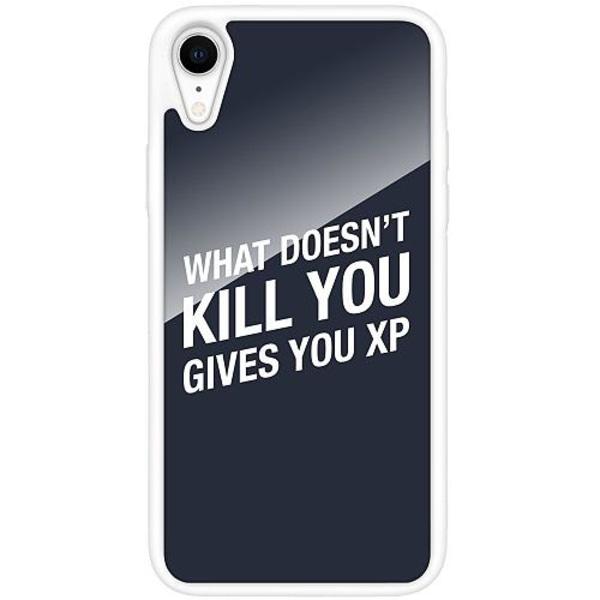 Apple iPhone XR Vitt Mobilskal med Glas XP