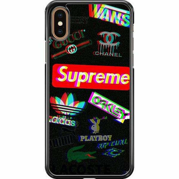 Apple iPhone XS Max Hard Case (Svart) 3D