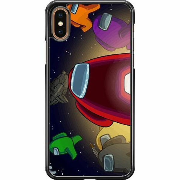 Apple iPhone XS Max Hard Case (Svart) Among Us