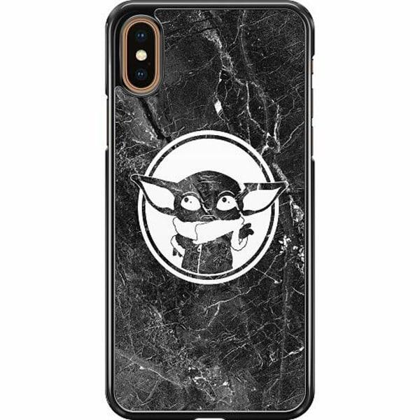 Apple iPhone XS Max Hard Case (Svart) Baby Yoda