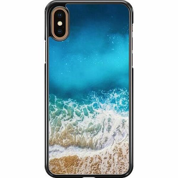 Apple iPhone XS Max Hard Case (Svart) Beach Please