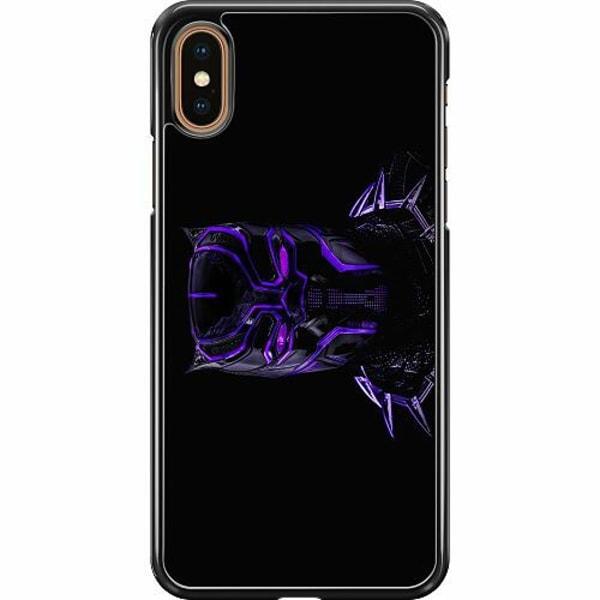 Apple iPhone XS Max Hard Case (Svart) Black Panther