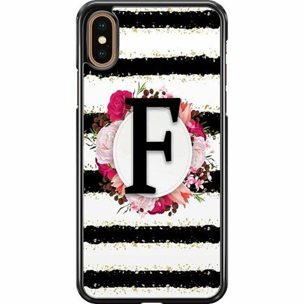 Apple iPhone XS Max Hard Case (Svart) F