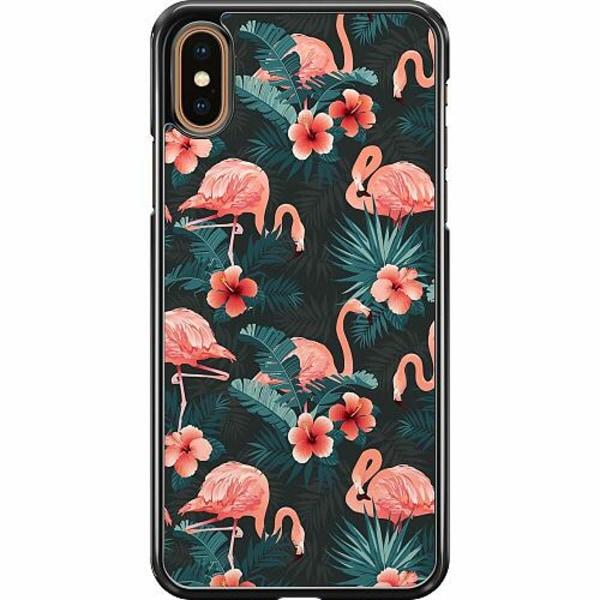 Apple iPhone XS Max Hard Case (Svart) Flamingo