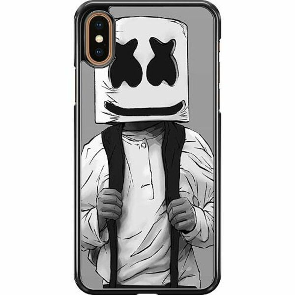 Apple iPhone XS Max Hard Case (Svart) Fortnite Marshmello
