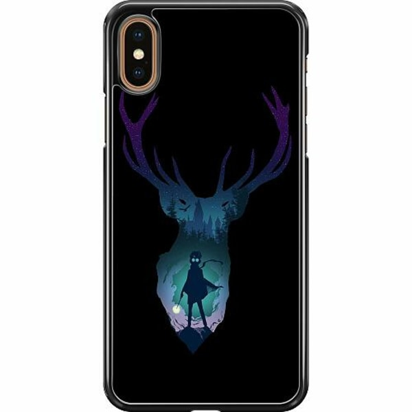 Apple iPhone XS Max Hard Case (Svart) Harry Potter