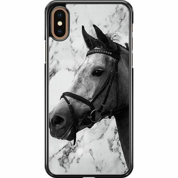 Apple iPhone XS Max Hard Case (Svart) Häst