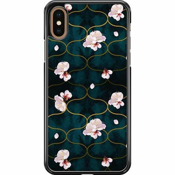 Apple iPhone XS Max Hard Case (Svart) Japanese Garden