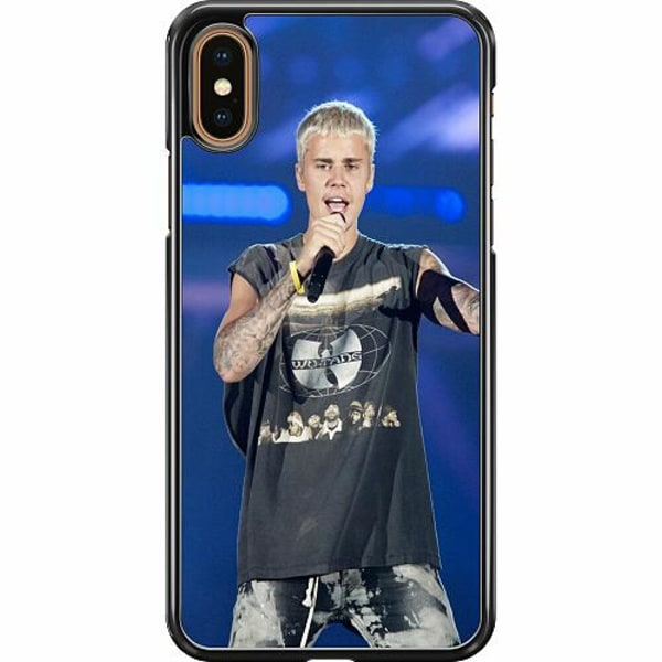 Apple iPhone XS Max Hard Case (Svart) Justin Bieber 2020