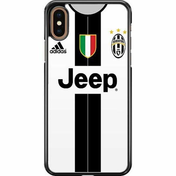Apple iPhone XS Max Hard Case (Svart) Juventus Football