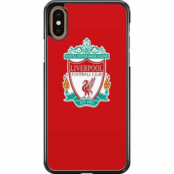 Apple iPhone XS Max Hard Case (Svart) Liverpool