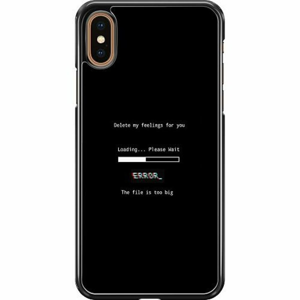 Apple iPhone XS Max Hard Case (Svart) Loading