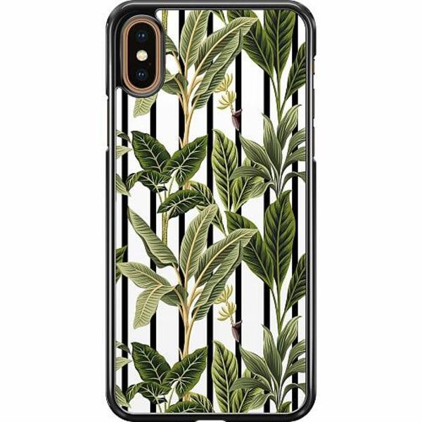 Apple iPhone XS Max Hard Case (Svart) Löv
